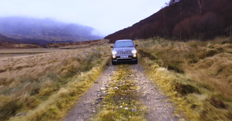 Scottish Highlands Jeep