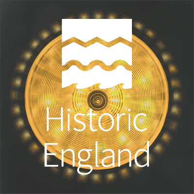 Historic England logo - Chocolate Films