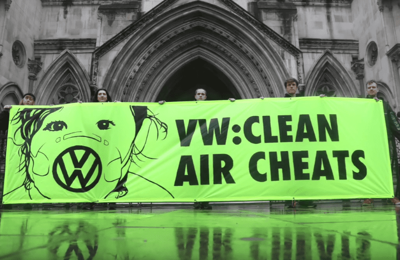 Greenpeace Demonstration Against Air Pollution