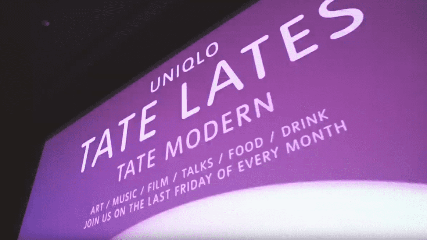 February Uniqlo Tate Late